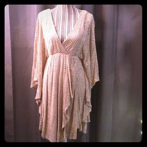 Free people lace boho dress